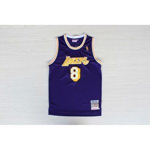 Los Angeles Lakers #8 Kobe Bryant Purple Jersey